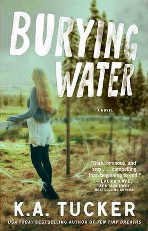 Book Cover - Burying Water