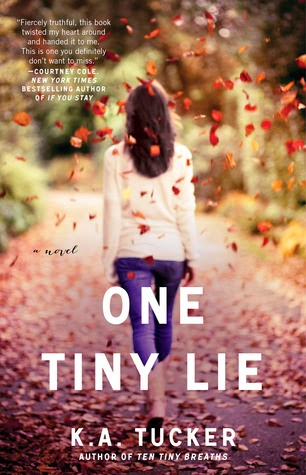 Book Cover - One Tiny Lie
