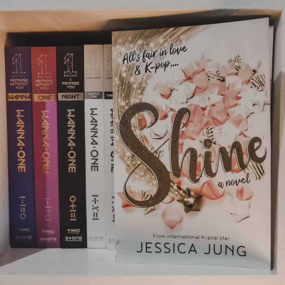 Bookish Thoughts Shine By Jessica Jung Fandomly Bookish Diary Of An Avid Fangirl And Book Sniffing Reader